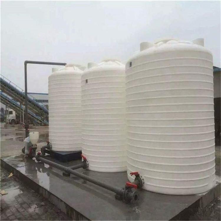 15吨塑料水箱尺寸 15立方化工储罐 塑料水塔